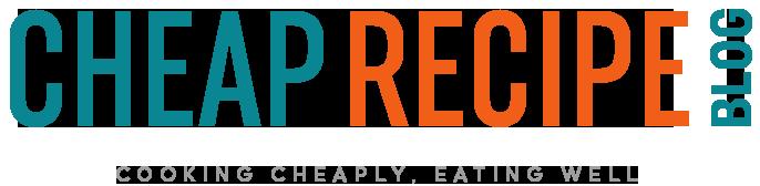 Cheap Recipe Blog Logo