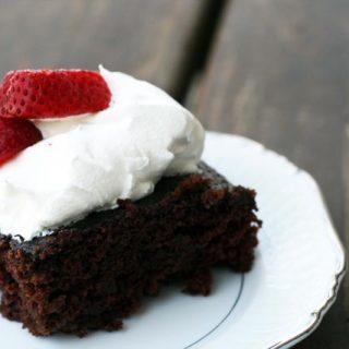Wacky cake recipe