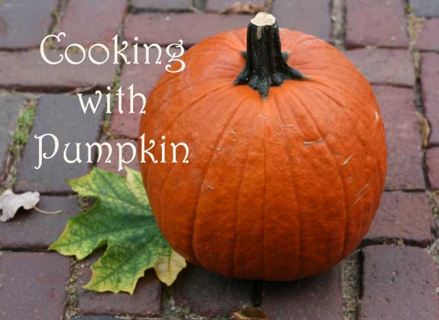 Cooking with pumpkin: How to make pumpkin puree out of a whole pumpkin. Save lots of money!