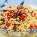 Spicy cornbread salad recipe