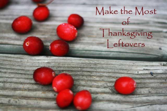 Thanksgiving leftover ideas