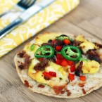 Breakfast tostadas recipe