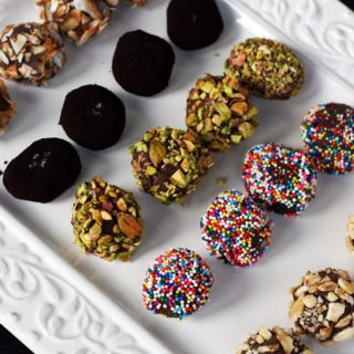 Chocolate ganache truffles recipe: Only two ingredients, plus endless topping ideas.