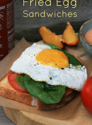 Fried Egg Sandwich Variations Recipes
