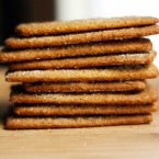 Homemade graham crackers recipe, from Cheap Recipe Blog