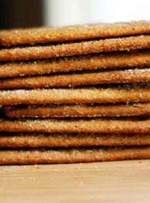 Gift Worthy: Homemade Graham Crackers Recipe