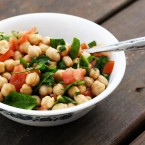 Lemony chickpea salad recipe