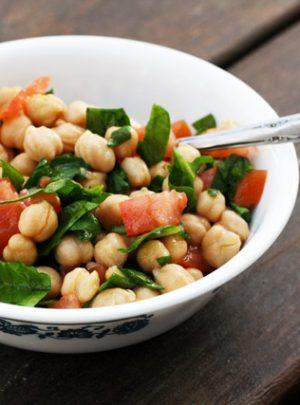 Lemony Chickpea Salad Recipe