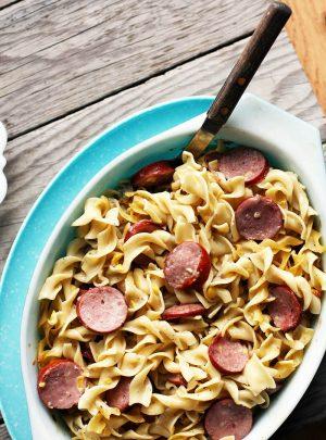 Ring Bologna Hotdish Recipe