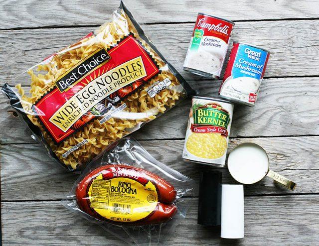 How to make ring bologna hotdish: A delicious Minnesota hotdish recipe that's easy to make!