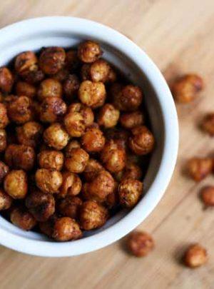 Roasted Garbanzo Beans Recipe