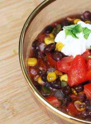 The Best Black Bean Soup Recipe