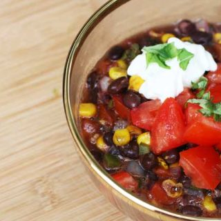 The best black bean soup recipe: Find out why this is my all-time favorite black bean soup.