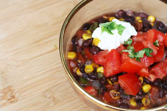 The best black bean soup recipe. Find out what makes this recipe different!