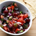 Grape salsa: A creative fruit-based salsa that's addictive and super easy to make.