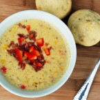 Roasted corn chowder recipe