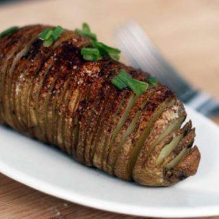 Hasselback Baked Potatoes