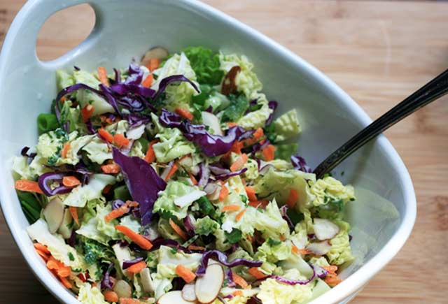 Cilantro lime coleslaw recipe. Coleslaw with major flavor. Repin to save!