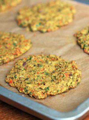 Curried Lentil Burgers Recipe