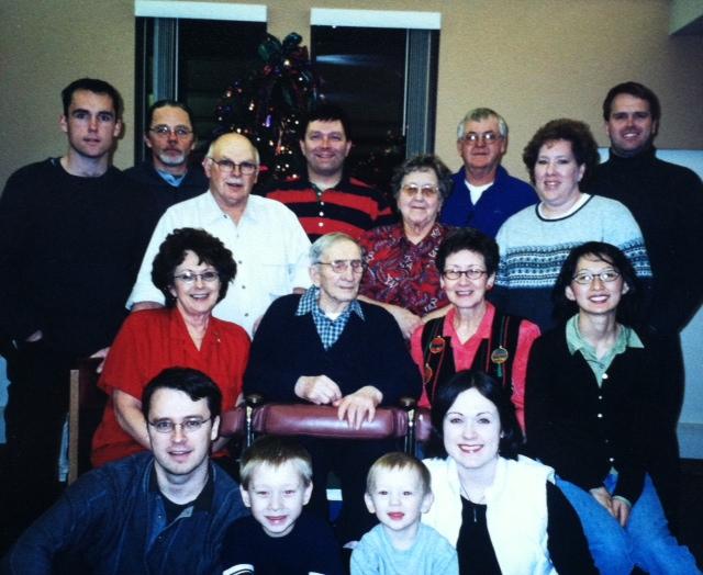 Family photo, from Cheap Recipe Blog