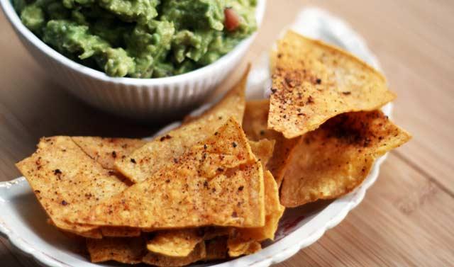 Homemade corn tortilla chips recipe