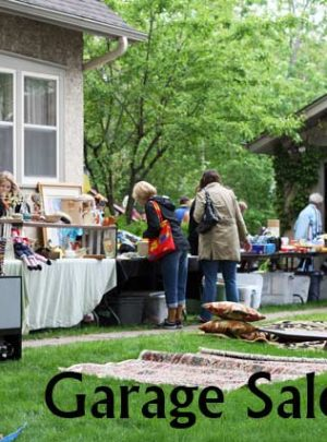 7 Tips For Getting The Best Stuff at Garage Sales