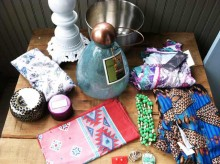 Garage sale finds from Cheap Recipe Blog