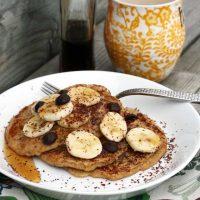 Banana-Oat Pancakes