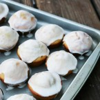 Glazed donut muffin recipe