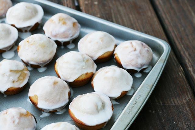 Glazed donut muffin recipe