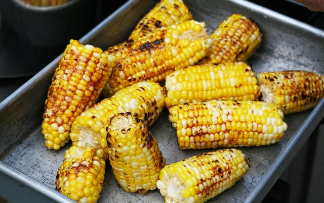 BBQ Sweet Corn: Different than just grilling corn. This one permeates with flavor!