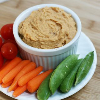 Sun-dried tomato and chickpea dip: Serve with veggies or chips, or use as a sandwich spread.