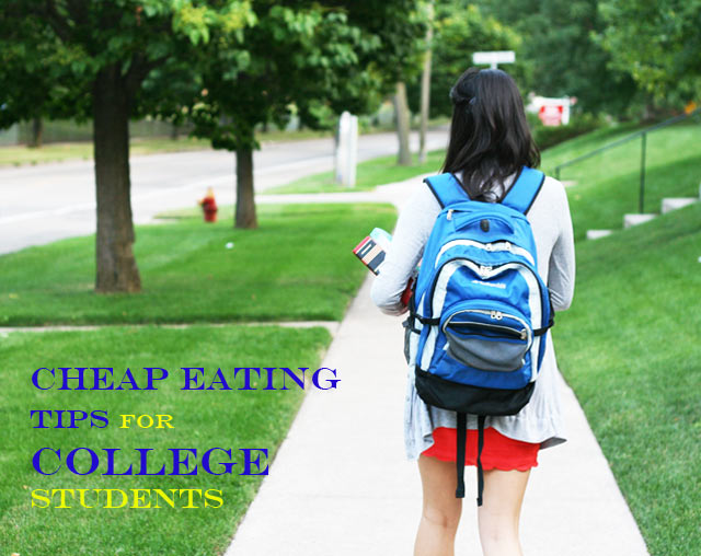 Cheap eating tips for college students. Learn how to save money and still eat great food!