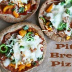 Pita bread pizza recipe