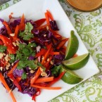 Thai peanut salad recipe