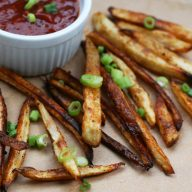 Crispy baked french fries recipe: Learn how to make the CRISPIEST homemade fries at home using a unique method.