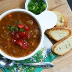 Lentil sausage soup recipe