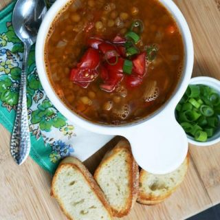 Lentil sausage soup recipe: Learn how to make this flavorful and cheap soup recipe!