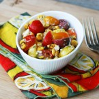 Summer sweet corn salad recipe: The easiest salad that still tastes great! Click through for recipe.
