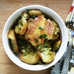 Crispy smashed potatoes recipe