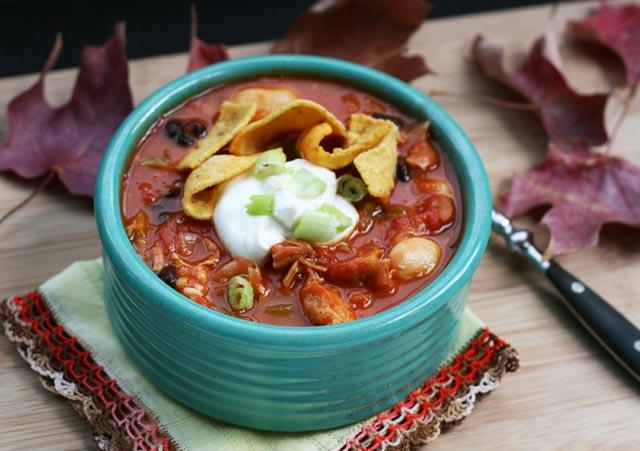 Thanksgiving leftover recipes turkey chili