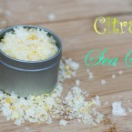 Gift-worthy recipes from Cheap Recipe Blog: Citrus sea salt