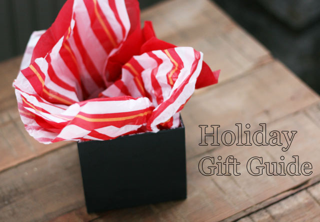 Holdiay gift guide from Cheap Recipe blog
