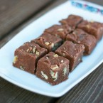 Toasted walnut fudge recipe