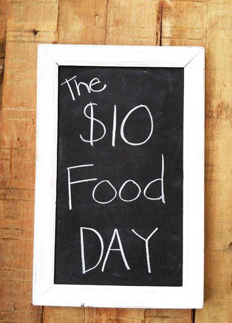 The $10 Food Day: 4 cheap recipes to feed a family of 4 - for less than $10!