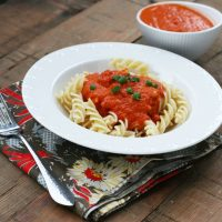 Amazing 3-Ingredient Pasta Sauce
