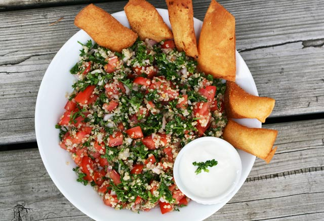 Cheap quinoa tabouli salad recipe