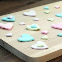Homemade Candy Hearts