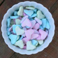 Homemade candy hearts recipe