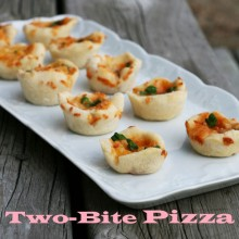 Mini pizza bites recipe